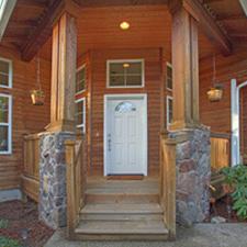 Cedar Wood Home Door